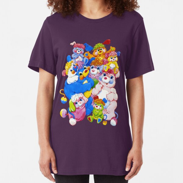 Popples - Group - Color Slim Fit T-Shirt
