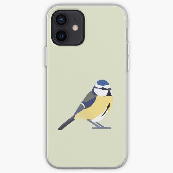Graphic Nature - Blue Tit iPhone Soft Case