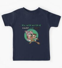 The Wild World of Cliff and Piper! Kids Tee