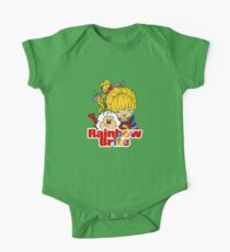 Rainbow Brite - Group - Rainbow & Twink - Small - Color One Piece - Short Sleeve
