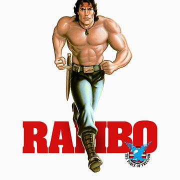 Rambo - Logo #1 - Color by DGArt