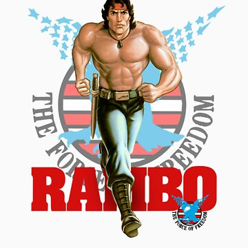 Rambo - Logo #3 - Color by DGArt
