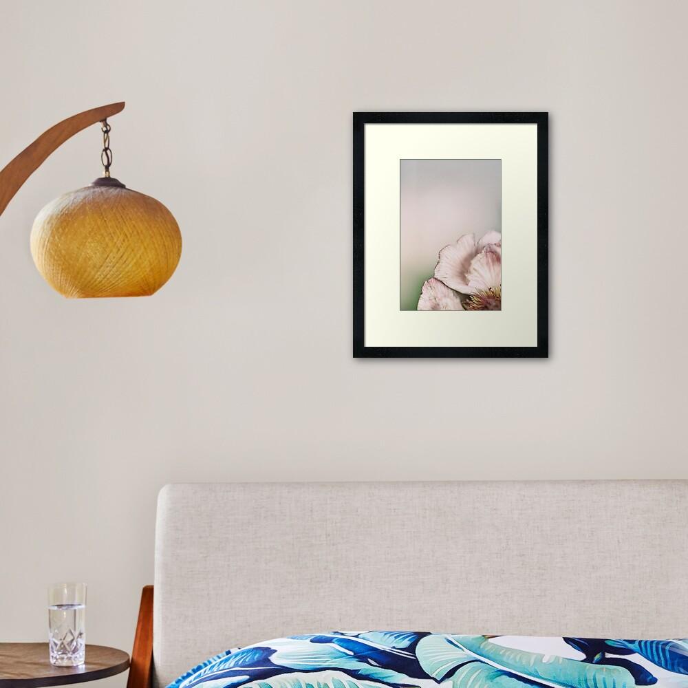 Flower Mystical Framed Art Print