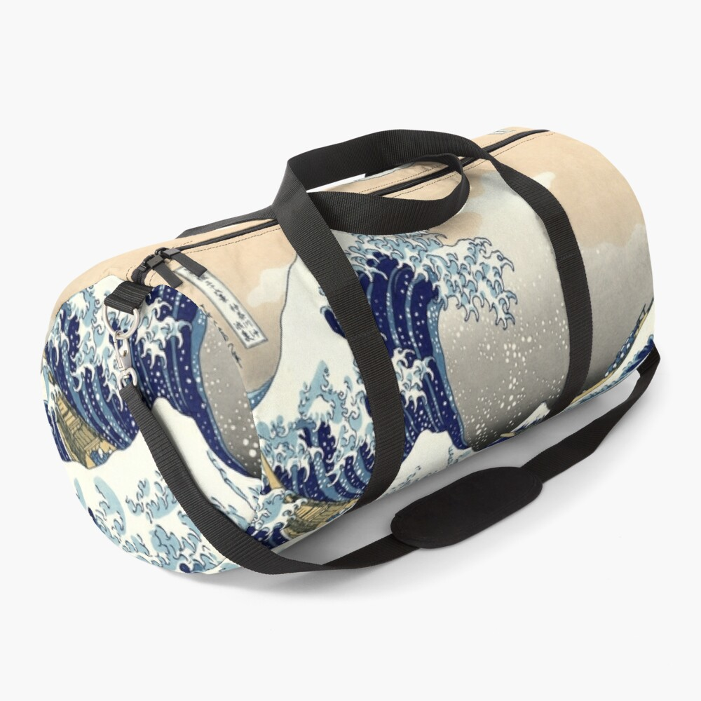 The Great Wave off Kanagawa - Hokusai Duffle Bag