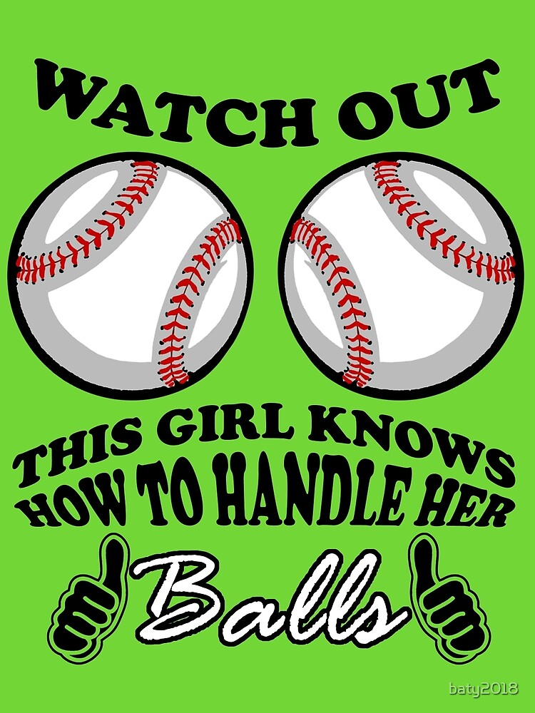 Watch out This Girl knows how to handle her balls by baty2018