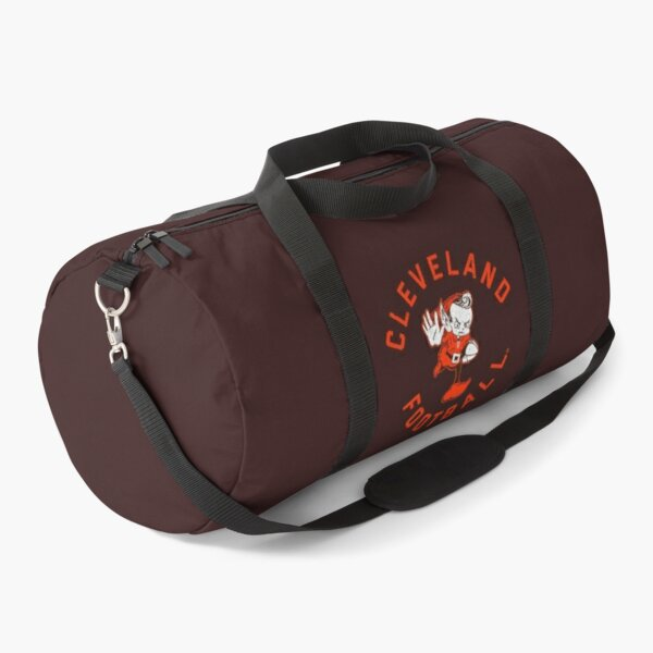 Cleveland Browns DamgoodGame Brownie Duffle Bag