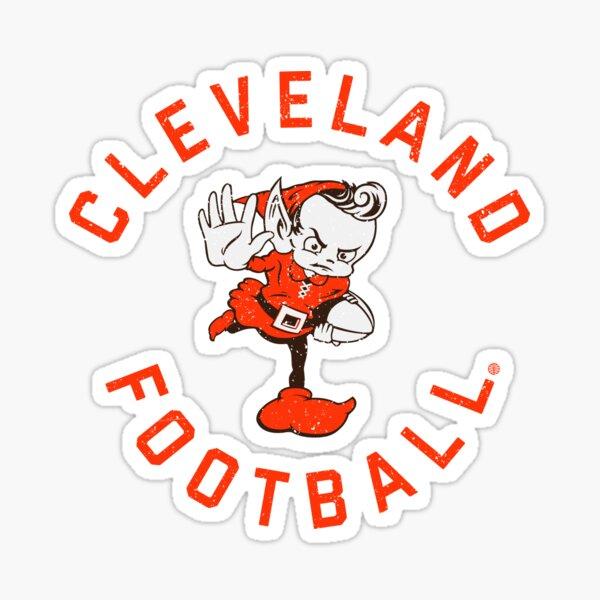 Cleveland Browns DamgoodGame Brownie Sticker