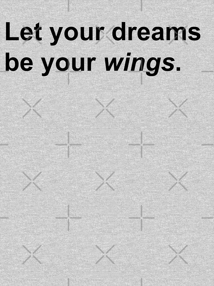 Let your dreams be your wings by ColorsHappiness