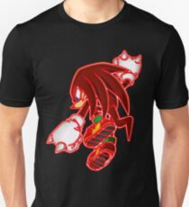 Neon Knuckles The Echidna T-Shirt
