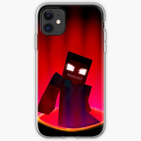 coque iphone 8 minecraft herobrine