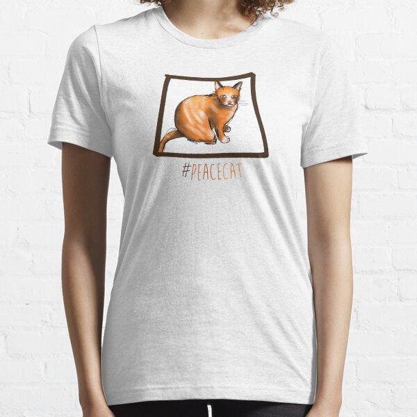 #PeaceCat Essential T-Shirt