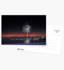 Point Walter Fireworks  Postcards