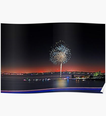 Point Walter Fireworks  Poster