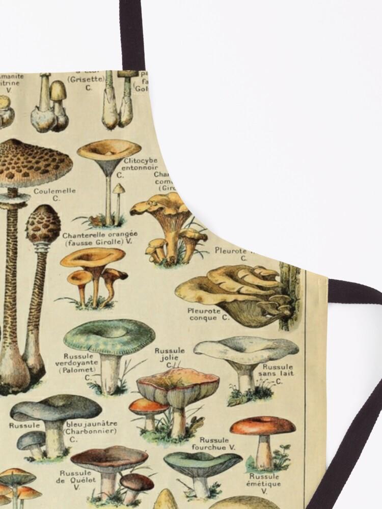 Alternate view of Mushrooms Apron