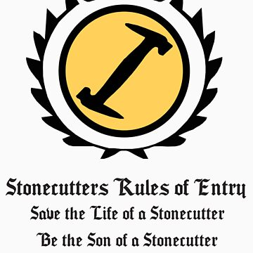 The Simpsons - Stonecutters - Rules of Entry by Oh-That-Guy-
