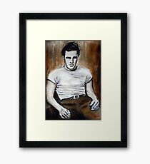 Marlon Brando Framed Print