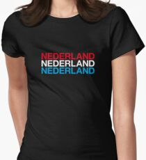 NETHERLANDS  Womens Fitted T-Shirt