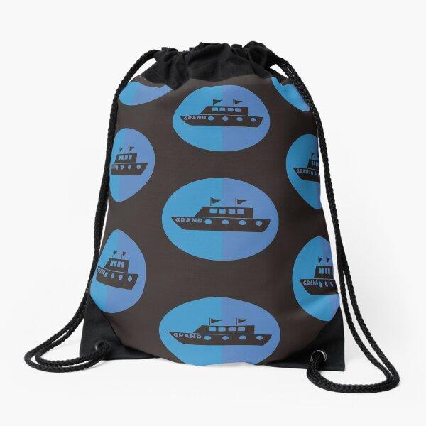 Mega Yacht GRAND Drawstring Bag