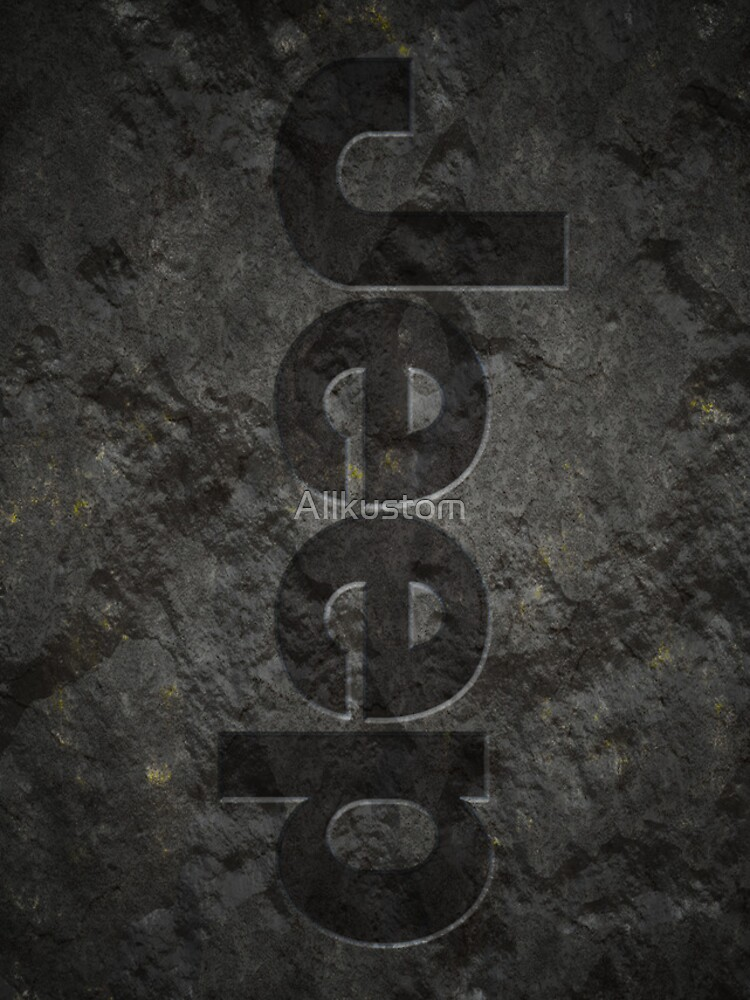 Jeep rock logo von Allkustom