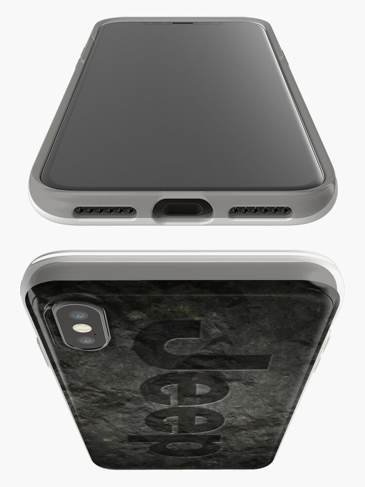 Alternative Ansicht von Jeep rock logo iPhone-Hüllen & Cover