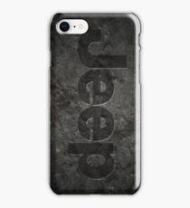 Jeep rock logo iPhone Case/Skin