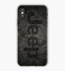 Jeep rock logo iPhone Case