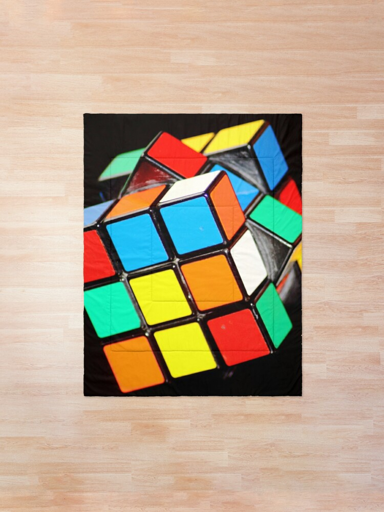 Alternate view of Rubiks Cube Comforter
