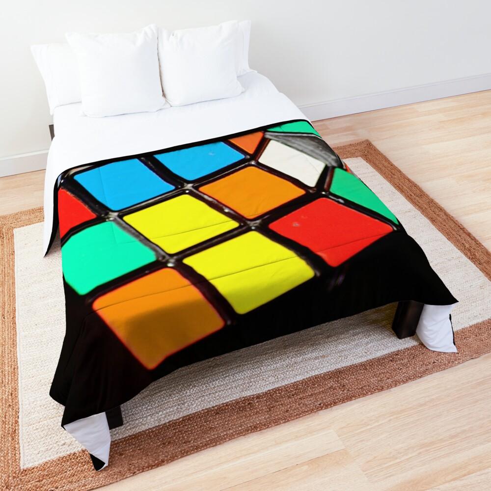 Rubiks Cube Comforter