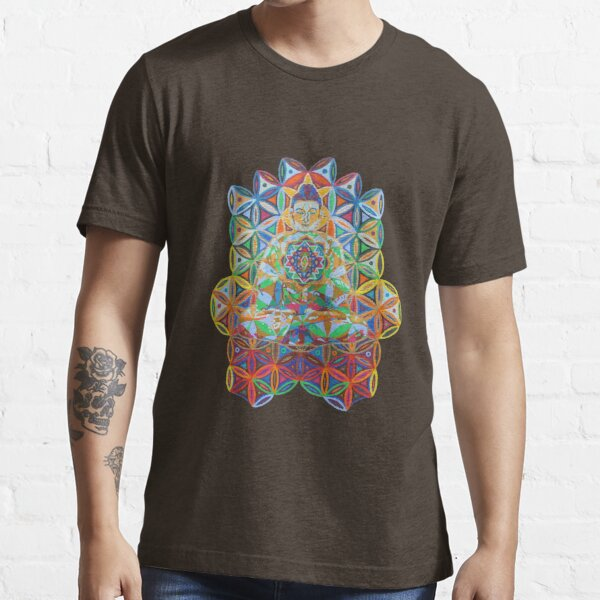Vipassana - 2012 - Buddha on chair as Tshirt Essential T-Shirt