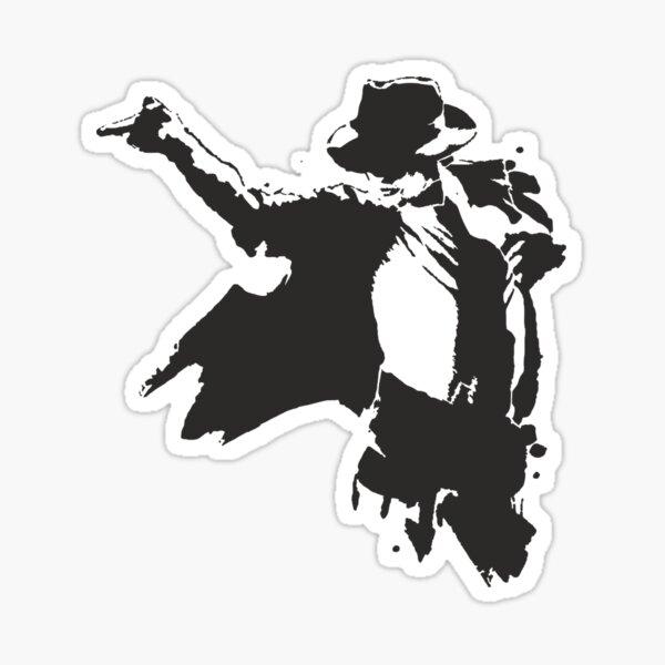 Michael Jackson Dessin Sticker