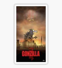 Gonzilla Sticker