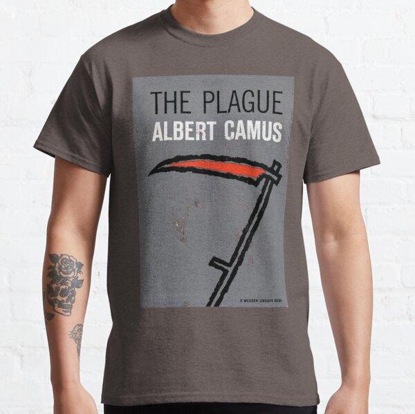 Plague by Camus (vintage book cover)  Classic T-Shirt