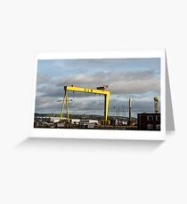 Harland and Wolff Belfast Greeting Card