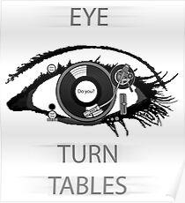 Eye TurnTables Poster