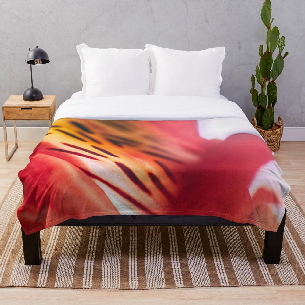 Flower Mystical Throw Blanket