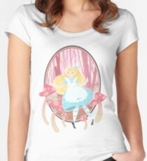 Alice's Wonders Fitted Scoop T-Shirt