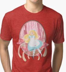 Alice's Wonders Tri-blend T-Shirt