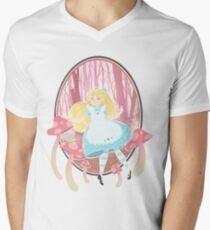 Alice's Wonders V-Neck T-Shirt