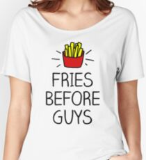 fries before guys - in living color Women's Relaxed Fit T-Shirt