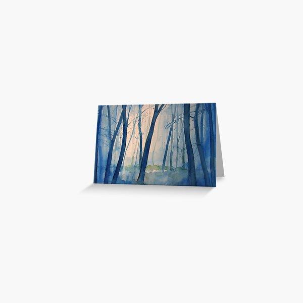Nel bosco Greeting Card