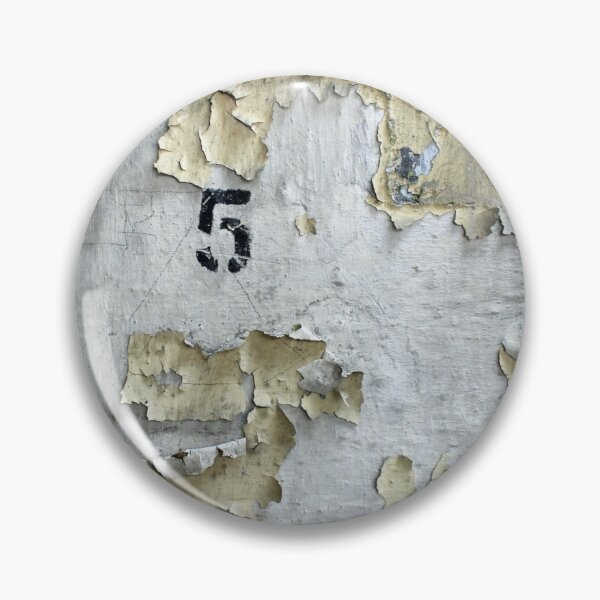 Factory Wall Number 5 Pin