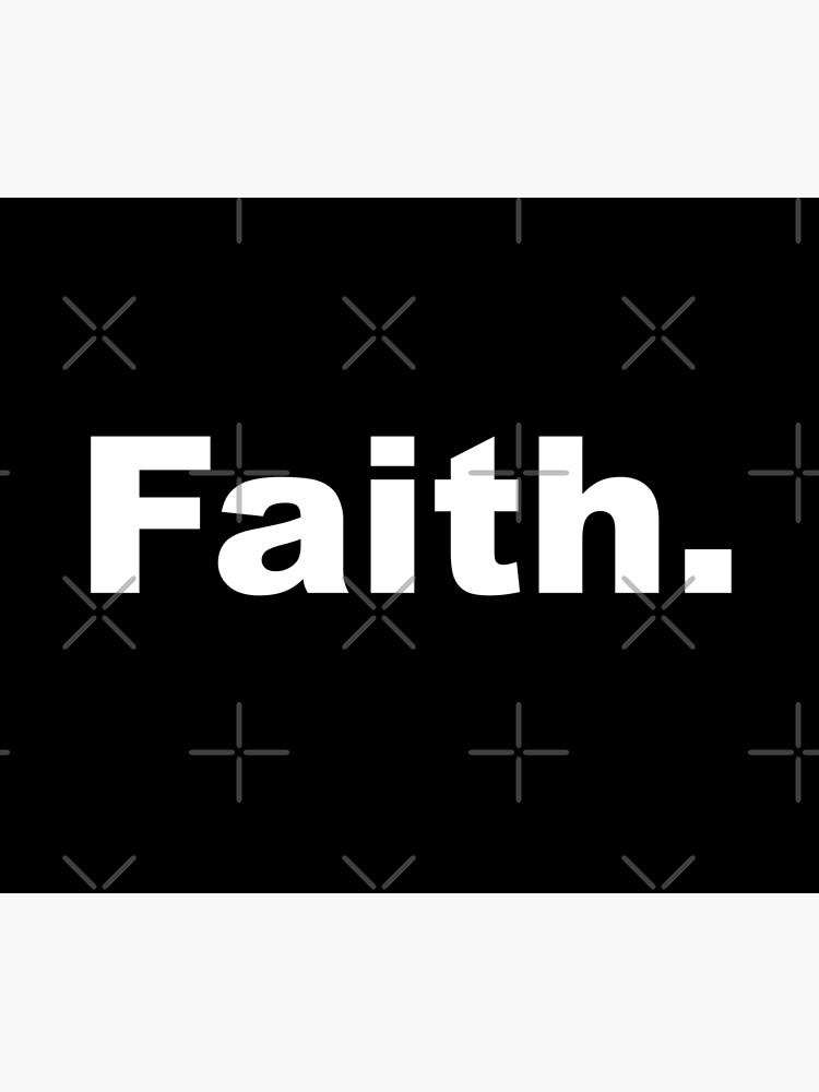 Faith. white by ColorsHappiness