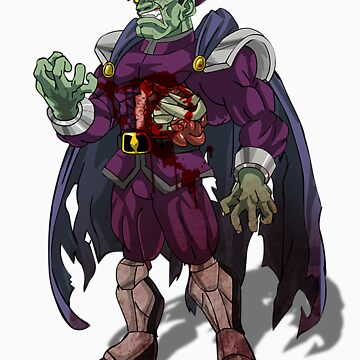 Zombie M Bison (Street Fighter) by AvenueRec