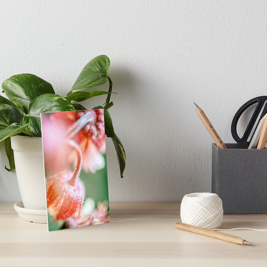 Flower Mystical Art Board Print