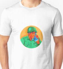 World War Two Soldier American Talk Radio WPA T-Shirt
