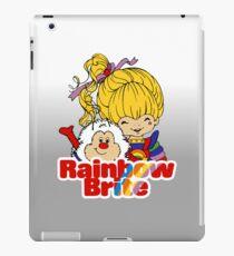 Rainbow Brite - Group - Rainbow & Twink - Large - Color iPad Case/Skin