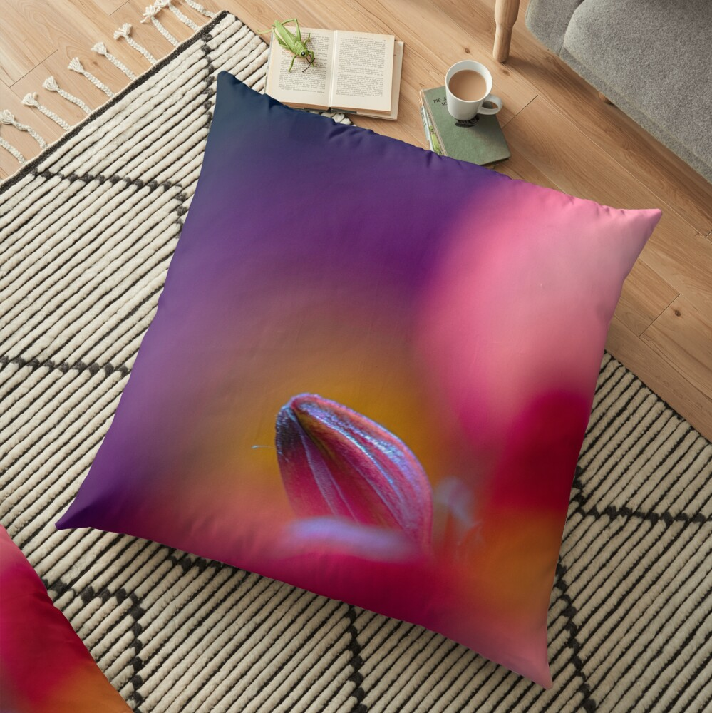Flower Mystical Floor Pillow