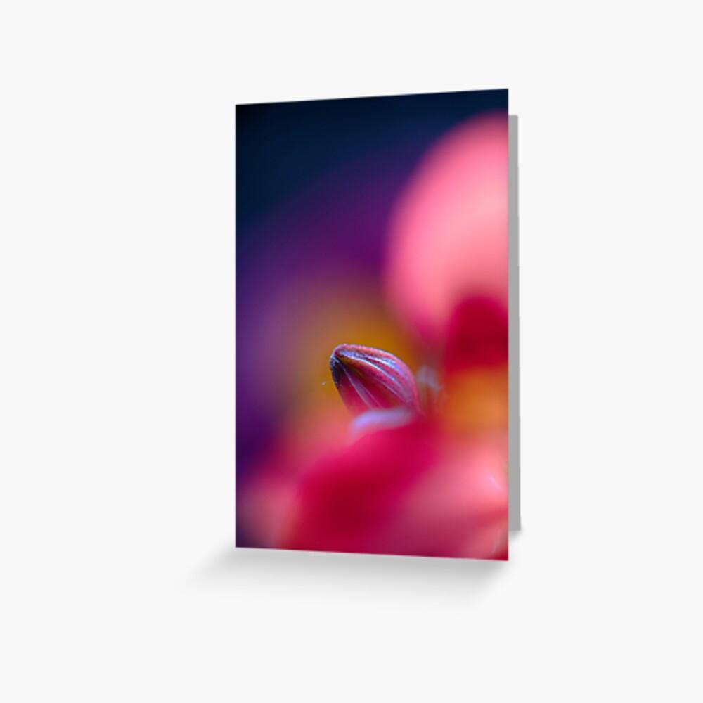 Flower Mystical Greeting Card