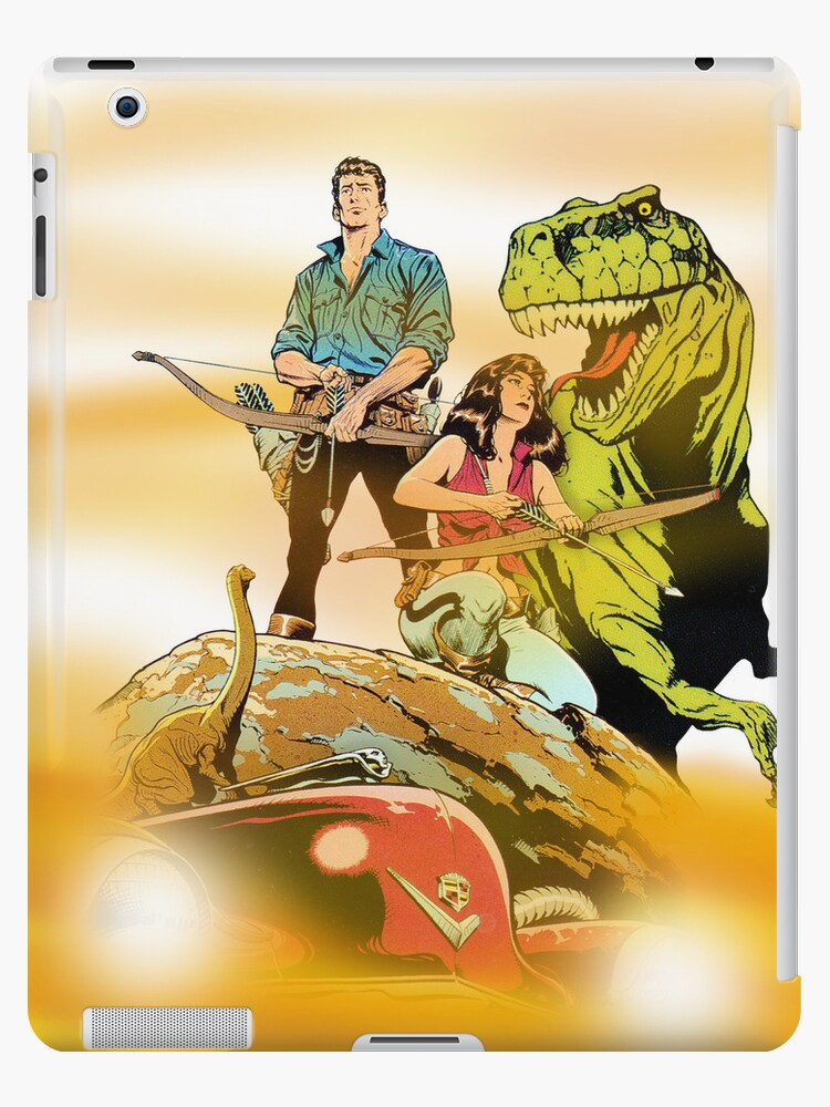 Cadillacs and Dinosaurs - Color by DGArt