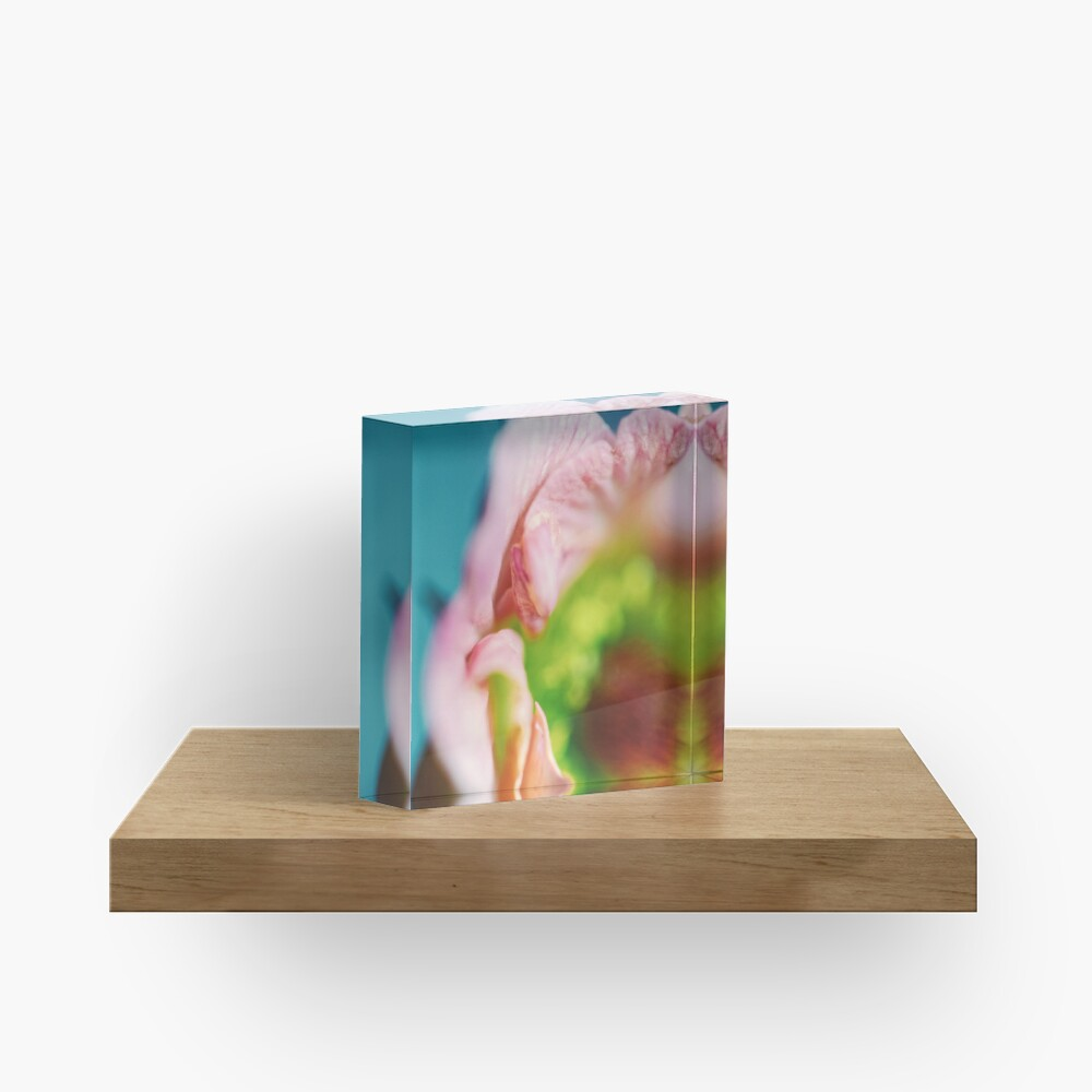 Flower Mystical Acrylic Block